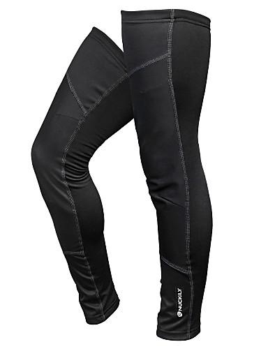 cheap Cycling Clothing-Nuckily Unisex Bike Leg Warmers/Knee Warmers Fleece Bike Wear Thermal / Warm Windproof Ultraviolet Resistant Sunscreen Compression