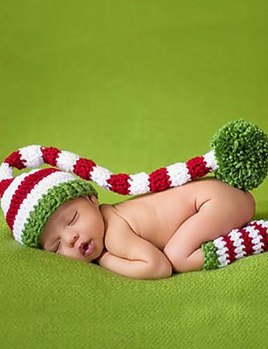Nyfødt Jente / Gutt Bomull Skjerf, Lue & Hanske- sett