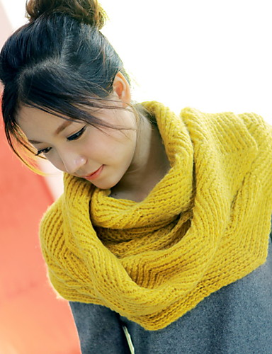 Women's Sweater Rectangle - Solid Colored