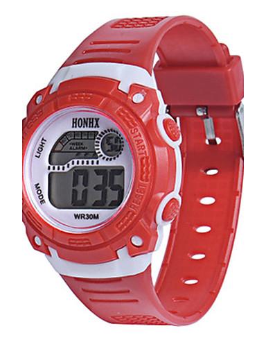 e6dfcce88c8 Dámské Sportovní hodinky Digitální hodinky čínština Digitální Silikon  Kapela Modrá Červená žlutá