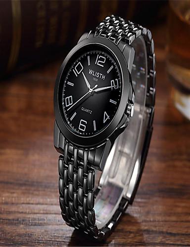 Pánské Módní hodinky Křemenný Slitina Kapela Běžné nošení Černá