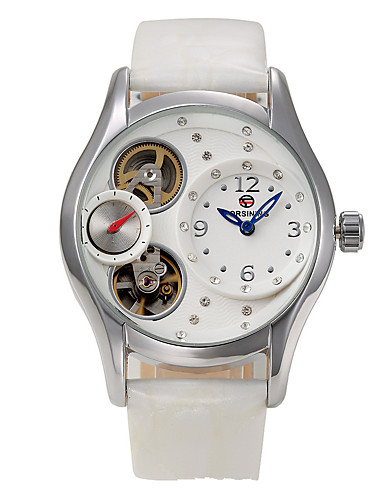 Dámské Náramkové hodinky Hodinky k šatům Módní hodinky čínština Křemenný Pravá kůže Kapela Přívěšky Elegantní Cool Vícebarevný