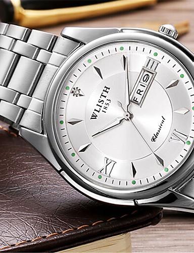 Pánské Módní hodinky Křemenný Slitina Kapela Běžné nošení Stříbro