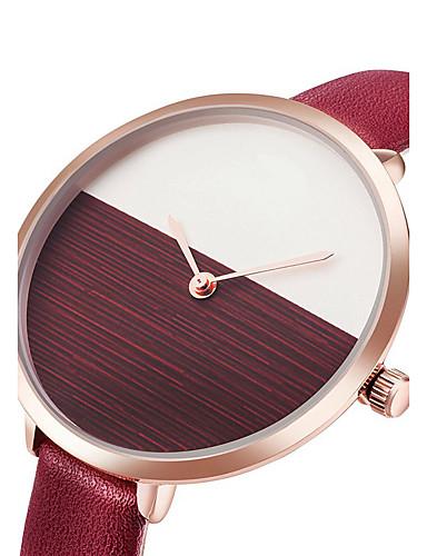 Dámské Módní hodinky Náramkové hodinky Hodinky na běžné nošení čínština Křemenný PU Kapela Na běžné nošení Cool Elegantní Minimalistické