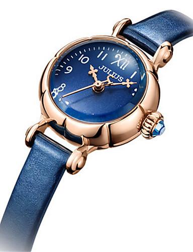 Dámské Módní hodinky japonština Křemenný Voděodolné Kůže Kapela Na běžné nošení Černá Bílá Modrá Červená Hnědá