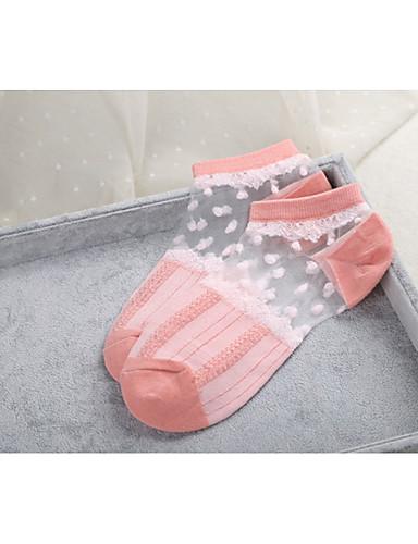 Dámské Bavlna Polyester Ponožky Tenké