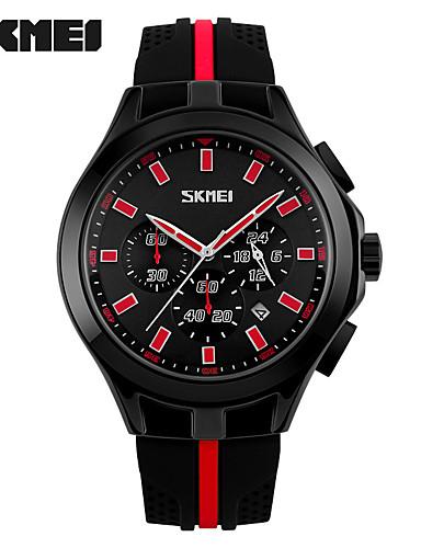 Homens Quartzo Único Criativo relógio Relógio de Pulso Relógio inteligente Relógio Esportivo Chinês Calendário Impermeável Mostrador