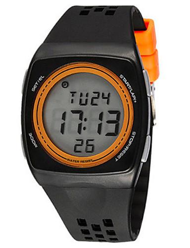 Pánské Módní hodinky Digitální hodinky Digitální Plastic Kapela Černá Modrá