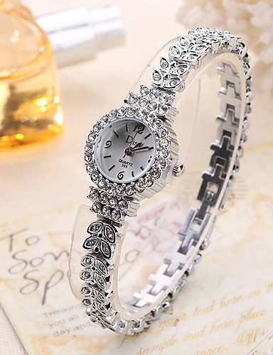 Women's Wrist Watch Creative / Cool Alloy Band Charm / Luxury / Casual Silver / Rose Gold / One Year / SSUO LR626