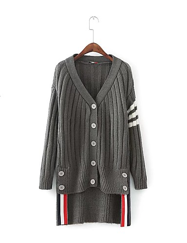 Women's Going out Daily Casual Cute Street chic Long Cardigan
