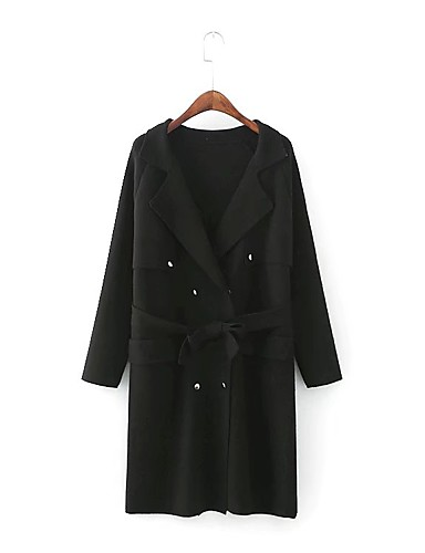 Women's Going out Daily Casual Street chic Winter Fall Coat