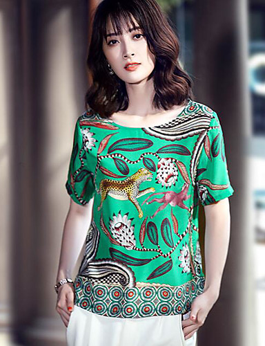Women's Daily Casual Spring Summer T-shirt