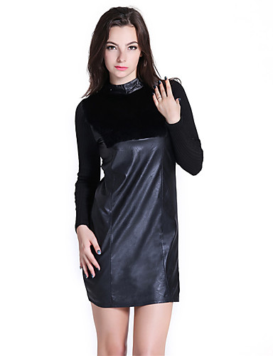 Women's Going out Daily Simple Little Black Dress