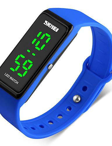 SKMEI Men's Sport Watch / Digital Watch PU Band Black / Blue / Red / Two Years / Maxell626+2025