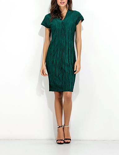 Women's Going out Daily Sexy Sheath Dress