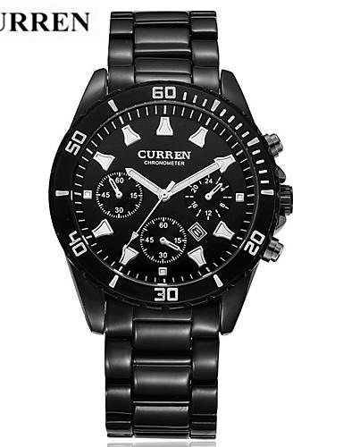 Homens Único Criativo relógio Relógio de Pulso Relógio inteligente Relógio Militar Relógio Esqueleto Relógio Elegante Relógio de Moda