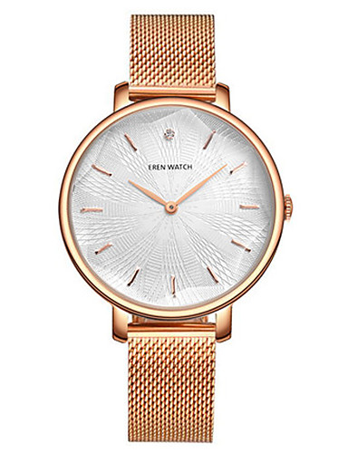 Women's Fashion Watch Japanese Quartz Water Resistant / Water Proof Alloy Band Rose Gold