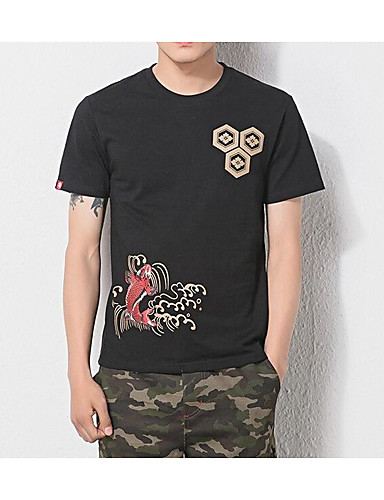 Men's Daily Chinoiserie Summer T-shirt