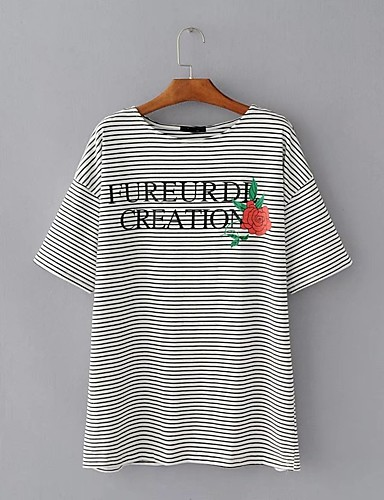 Women's Daily Holiday Going out Casual Sexy Street chic Summer Fall T-shirt