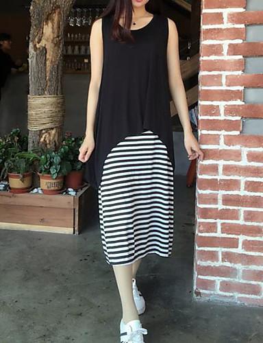 Women's Daily Simple Skater Dress