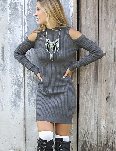 Women's Holiday Daily Vintage Bodycon Dress