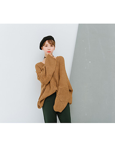 Women's Going out Daily Cute Regular Pullover