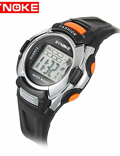 Dame Quartz Digital Digital Watch Armbåndsur Smartklokke Militærklokke Sportsklokke Kinesisk Alarm Kalender Vannavvisende LED Stor