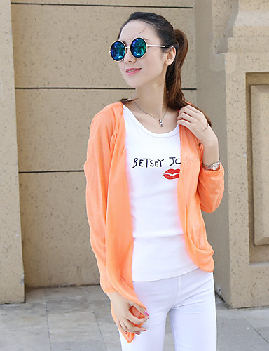 Women's Daily Casual Summer Cloak/Capes