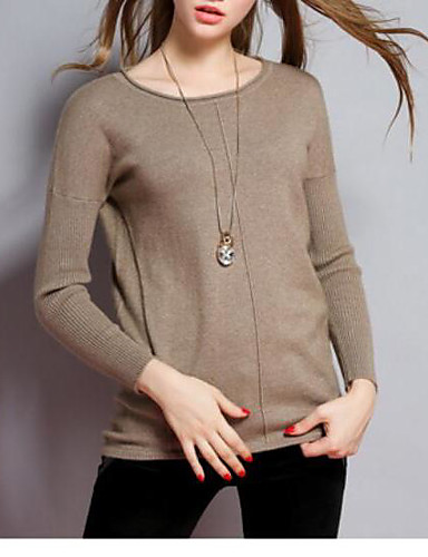 Women's Daily Casual Long Cashmere