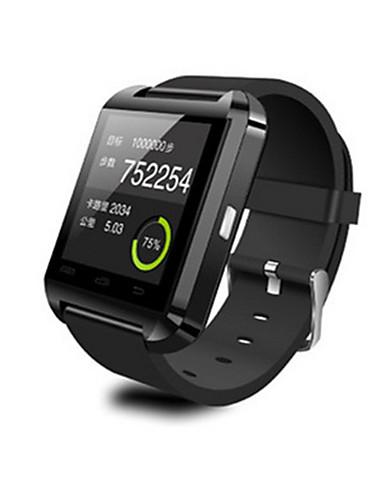 Men's Women's Smart Watch Fashion Watch Digital Water Resistant / Water Proof Rubber Band Black White Red