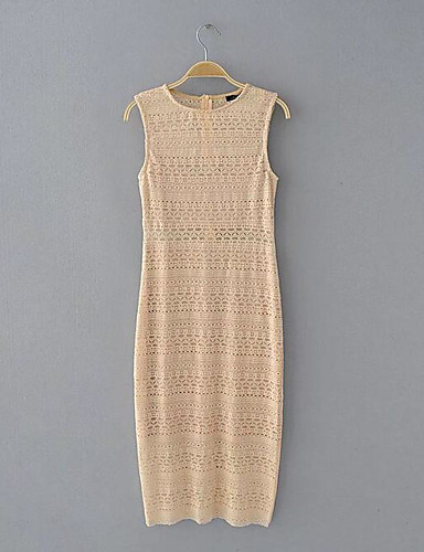 Women's Daily Bodycon Tunic Dress