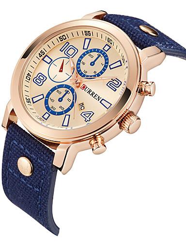 Men's Sport Watch Dress Watch Fashion Watch Wrist watch Unique Creative Watch Chinese Quartz Calendar Water Resistant / Water Proof Large