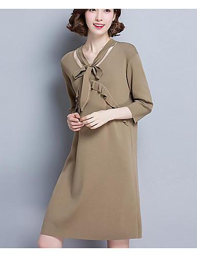 Women's Daily Cute Shift Dress
