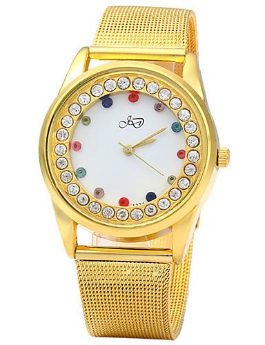 Mulheres Quartzo Simulado Diamante Relógio Único Criativo relógio Relógio de Moda Chinês imitação de diamante Metal Banda Brilhante