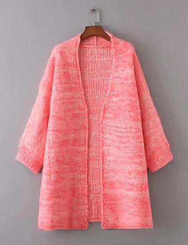 Women's Going out Daily Casual Street chic Long Cardigan