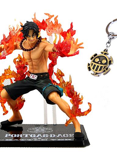 رخيصةأون كوسبلاي أنيمي-عمل أرقام أنيمي مستوحاة من One Piece Ace PVC CM ألعاب تركيب دمية لعبة