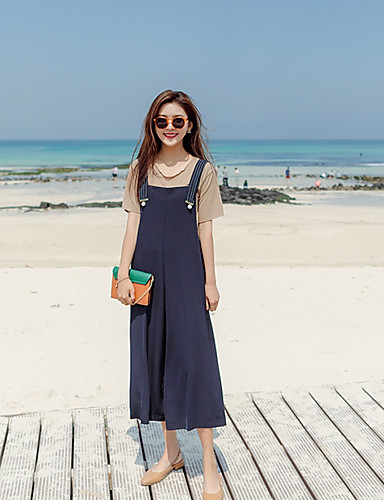 Women's Daily Casual Fashion Strap Jumpsuits