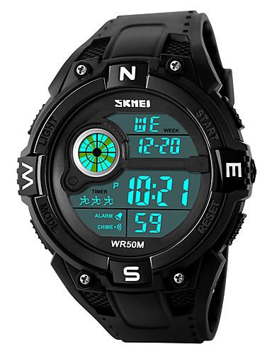 SKMEI Homens Relogio digital Relógio de Pulso Relógio Militar Relógio de Moda Relógio Esportivo Japanês Digital Alarme Calendário