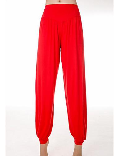abordables Pantalons Femme-Femme Chic de Rue Grandes Tailles Quotidien Ample Pantalon - Couleur Pleine Vin Gris Clair Bleu royal XL XXL XXXL