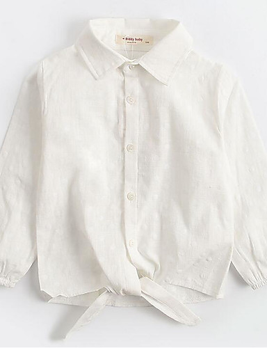 Mädchen Hemd Tupfen Baumwolle Herbst