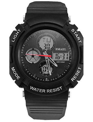 Férfi Kvarc Digitális digitális karóra Karóra Intelligens Watch Katonai óra Sportos óra Kínai Riasztás - Ébresztős Naptár Vízálló LED