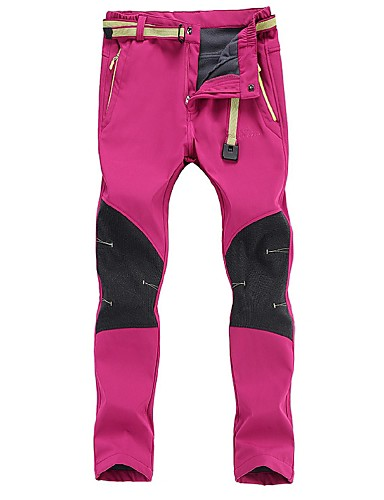 cheap Outdoor Clothing-Women's Hiking Pants Outdoor Windproof Breathable Wear Resistance Autumn / Fall Winter Pants / Trousers Hunting Ski / Snowboard Hiking Black Purple Fuchsia XL XXL XXXL