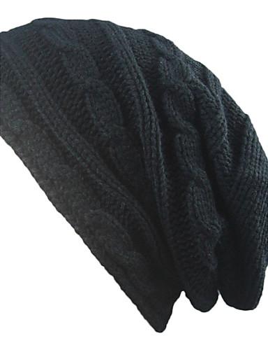 Uniszex Egyszínű Tiszta szín Pamut, Kalap - Széles karimájú kalap