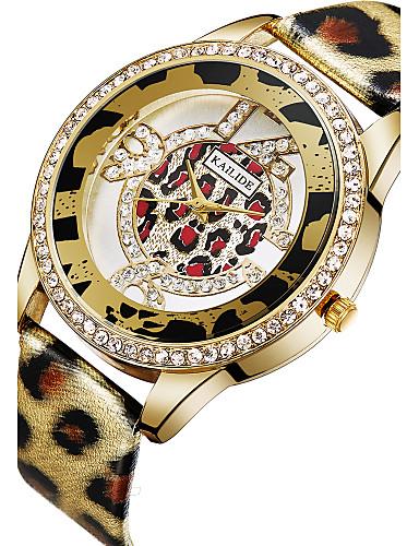 ASJ Women's Wrist Watch Japanese PU Band Charm / Fashion Silver / Gold / Stainless Steel
