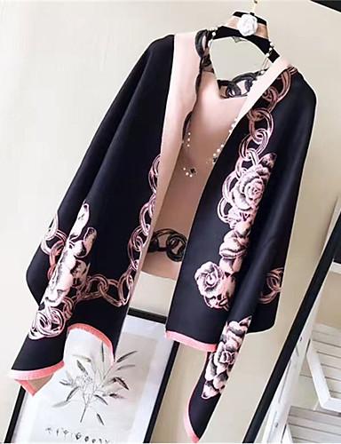 Women's Imitation Cashmere Rectangle - Jacquard / Fall