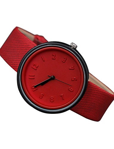 Women's Wrist Watch Casual Watch Genuine Leather Band Casual / Fashion Black / White / Blue