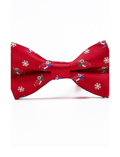 Men's Polyester Bow Tie - Jacquard
