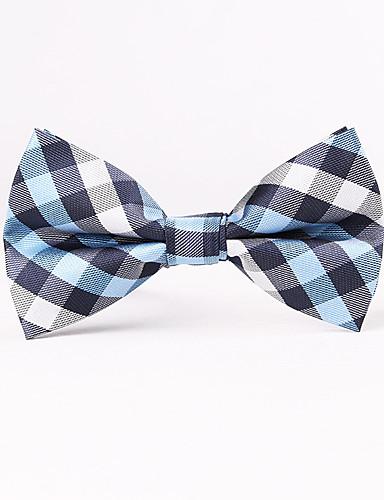 Men's Grid Bow Tie - Houndstooth