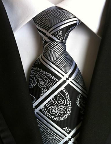 Férfi Csíkos Munkahelyi Alap - Nyakkendő