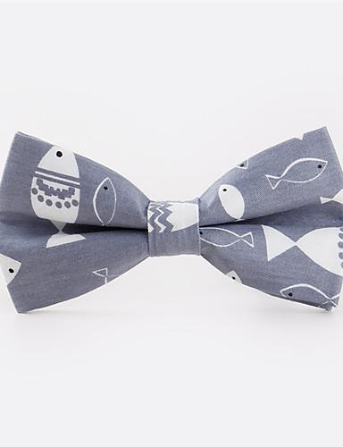 Men's Pattern Bow Tie Print